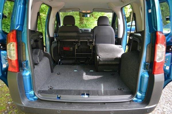 Peugeot Bipper boot