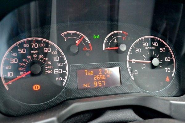 Peugeot Bipper dials