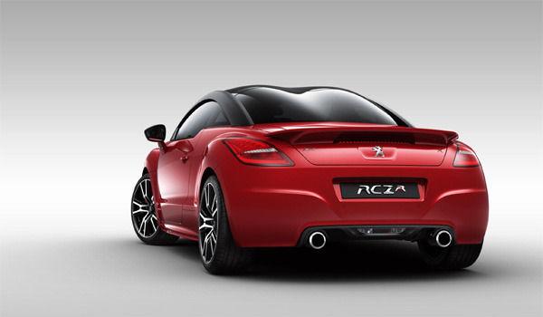 Peugeot RCZ-R rear