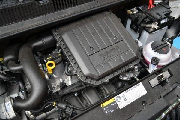 Skoda Citigo Sport engine