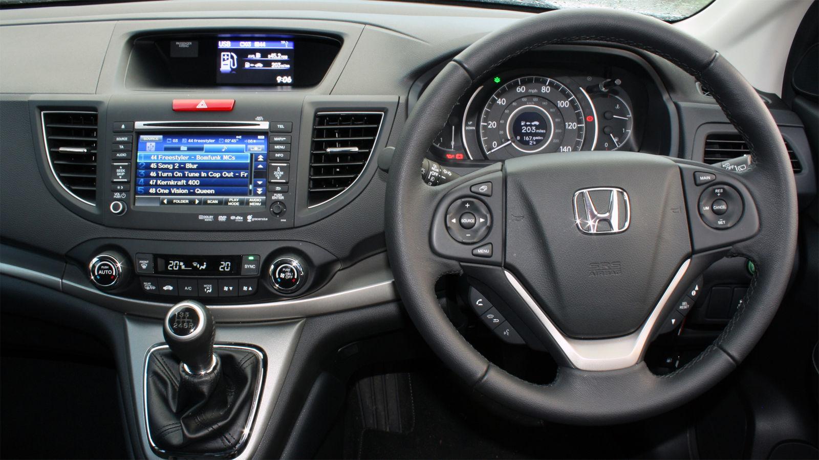 Honda cr v 1 6 dtec earth dreams real world uk review for Interior honda crv 2014