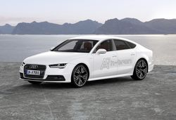 Volkswagen Group has a gas with new A7 h-tron and Golf Hymotion