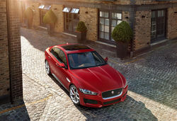 New Jaguar XE  Saloon Unveiled