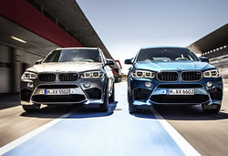 2015 BMW X5 M and X6 M announced. Bashful types need not apply…