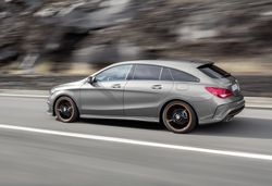 Mercedes CLA 45 AMG Shooting Brake revealed