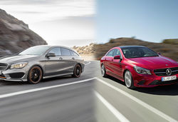 Mercedes CLA vs CLA Shooting Brake – what's the difference?