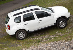 Content dacia duster offroad side