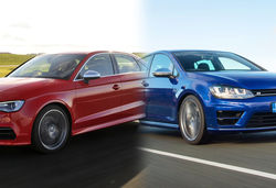 Volkswagen Golf R vs Audi S3 – side-by-side super-hatch face off