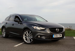 2014 Mazda 6 Tourer UK real world review