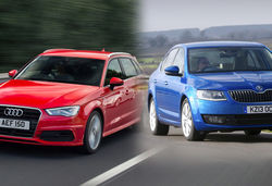 Audi A3 Sportback vs Skoda Octavia – which family hatchback comes out on top?
