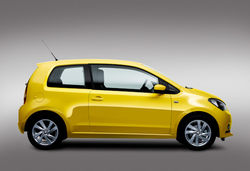 Seat mii yellow side
