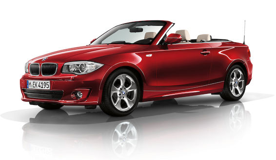 1 series convertible 2011