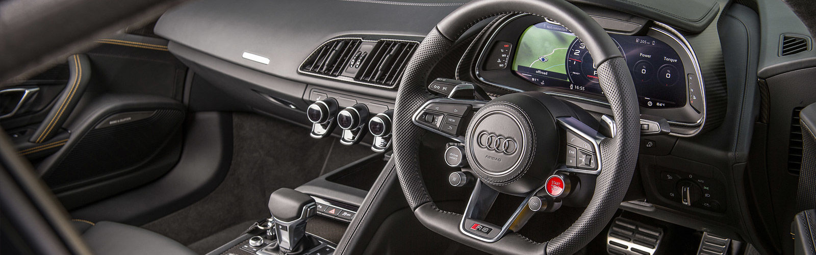 audi r8 interior. the interior layout will probably not change hugely from r8 v10 but materials and equipment levels may varyu2026 audi