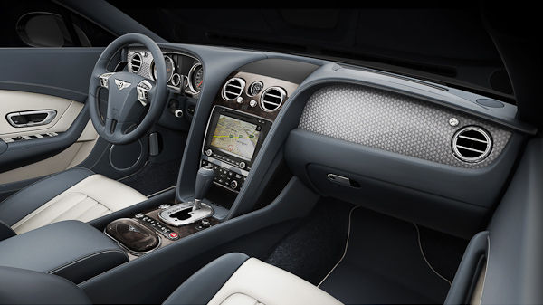 Continental GT V8 interior dashboard