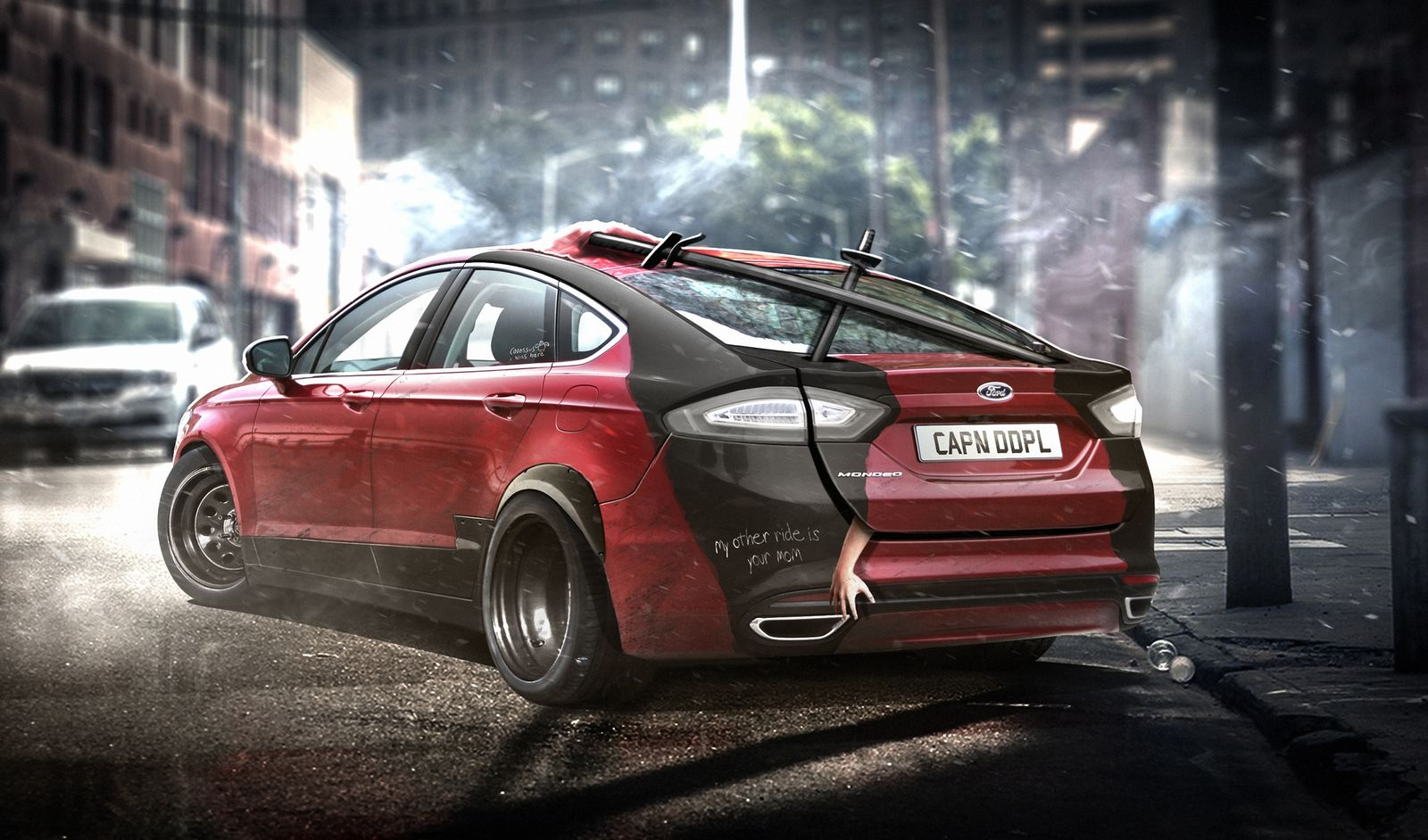 Deadpool's Ford Mondeo/Fusion - carwow