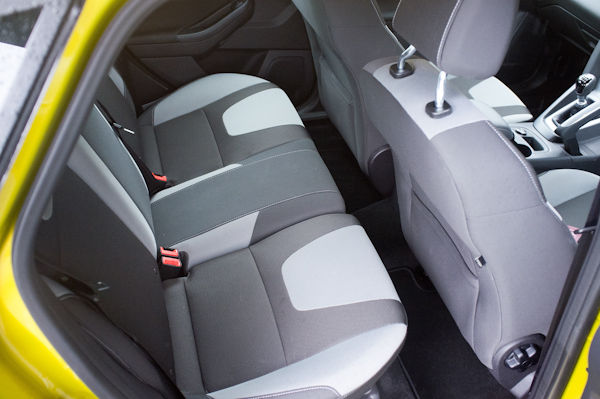 Ford Focus Rear Seats