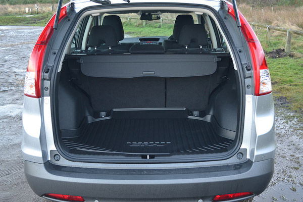 Honda CR-V Silver Boot