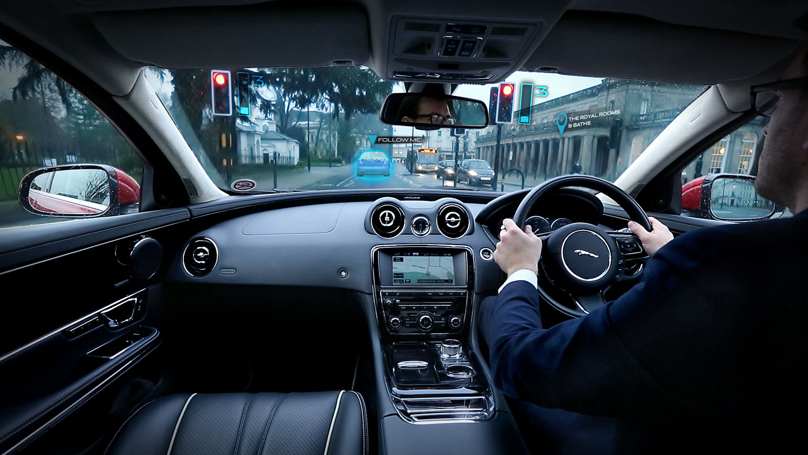 Jaguar Land Rover Shows Off Ghost Car Technology And Invisible Interiors Carwow