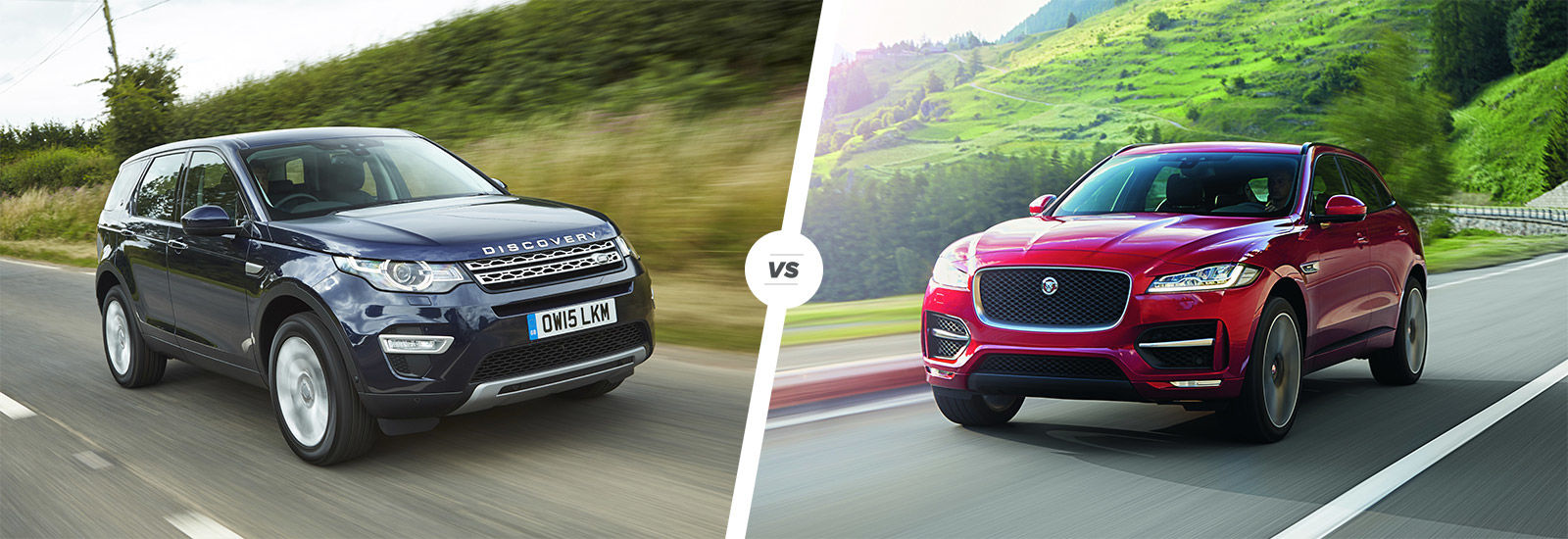 Land Rover Discovery Sport Vs Jaguar F Pace Carwow