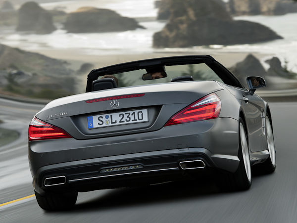 Mercedes SL back