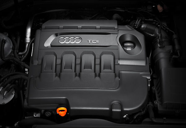 New Audi A3 engine