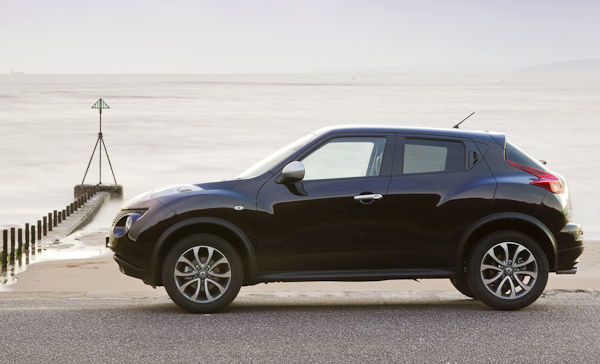 Nisan Juke Shiro black