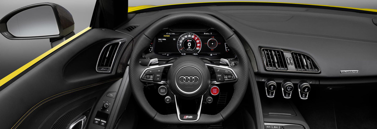 audi r8 convertible interior. audi r8 spyder v10 styling convertible interior
