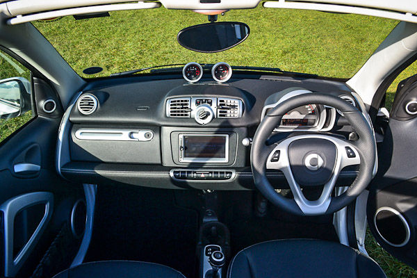 Smart Fortwo Brabus Cabriolet Dashboard