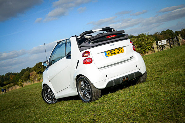 smart fortwo brabus cabriolet review carwow. Black Bedroom Furniture Sets. Home Design Ideas