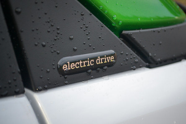 Smart Fortwo Electric Drive Badge