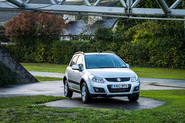 Suzuki SX4 Front Three Quarter