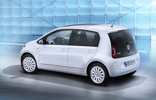 VW Up 5-Door back