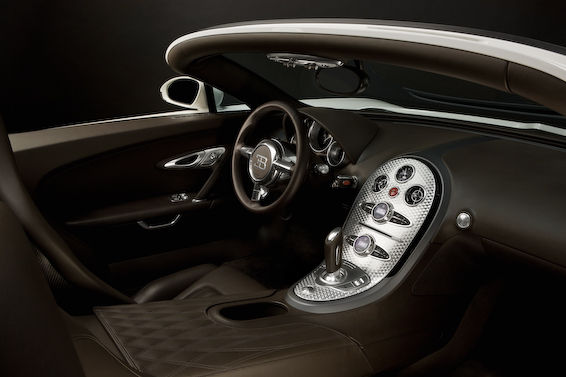Veyron Grand Sport interior