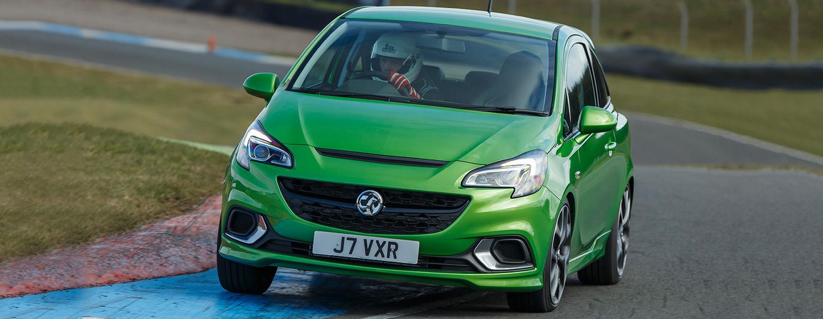 Green car paint colors - Vauxhall Corsa Vxr Lime Green