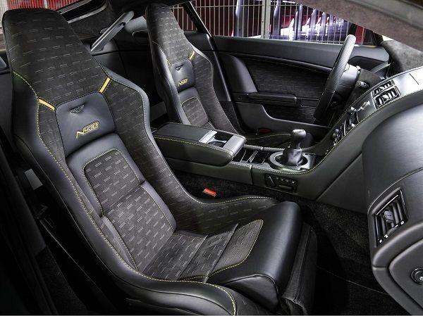 Aston Martin N430 Seats