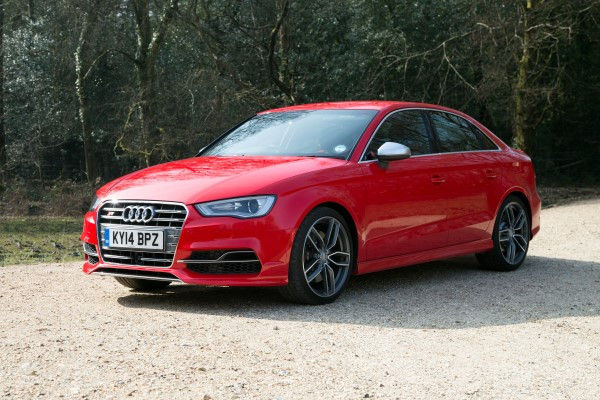 Audi S3 front angle