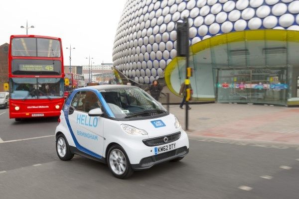 car2go Smart driving