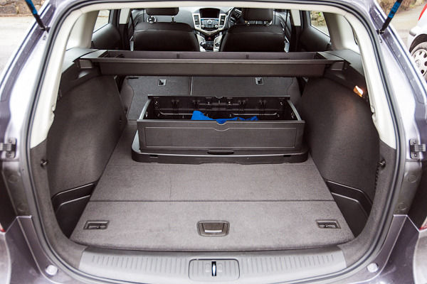 Chevrolet Cruze Boot Folded