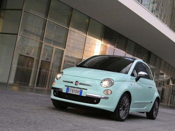 Fiat 500 Cult front angle