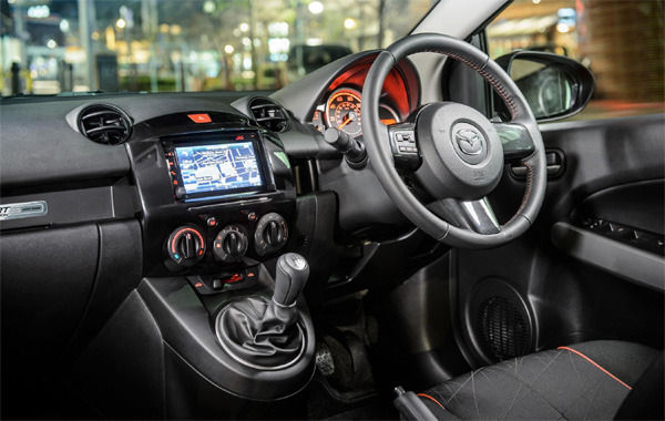 Mazda 2 colour edition prices and specification carwow each car comes in one of three colours red white or silver with a limited edition number plaque on the passenger dash publicscrutiny Image collections