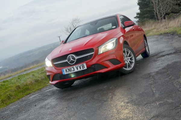 Mercedes CLA front