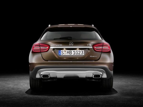 Mercedes GLA rear angle