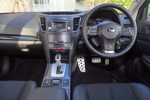 Subaru Outback dashboard