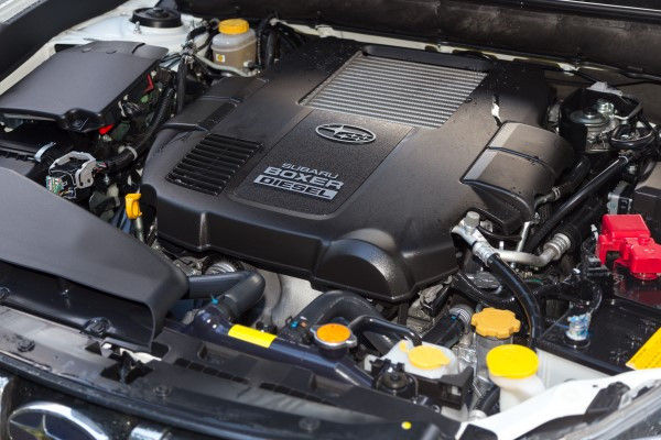 Subaru Outback engine