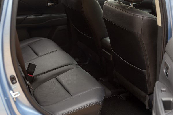 Mitsubishi Outlander PHEV rear seats
