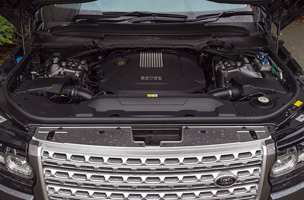 Range Rover 2014 Engine