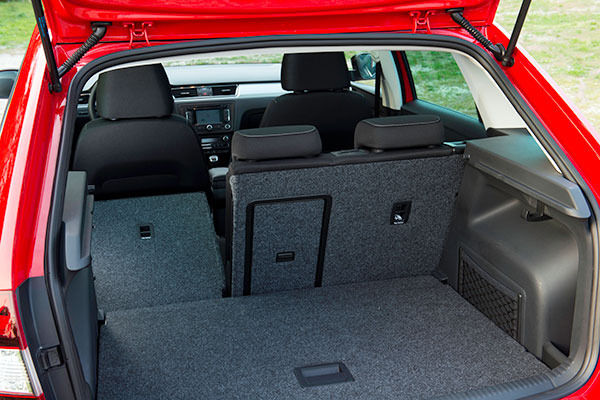 Skoda Rapid Spaceback Boot