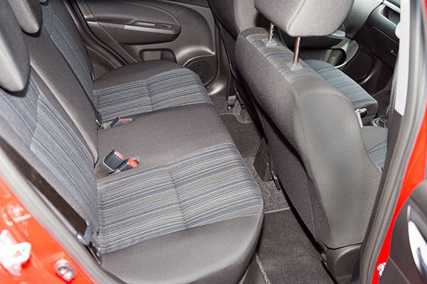 Suzuki Swift 4x4 Rear Seats