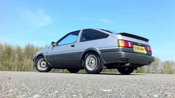 Toyota AE86 low angle