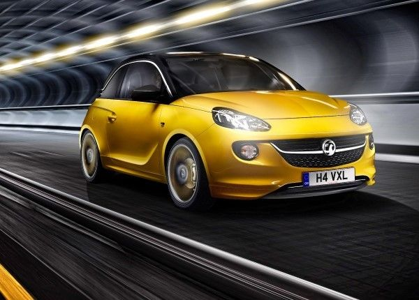 Vauxhall Adam driving